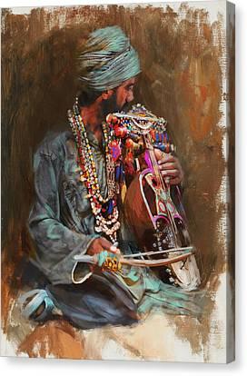 023 Sindh B Canvas Print by Mahnoor Shah