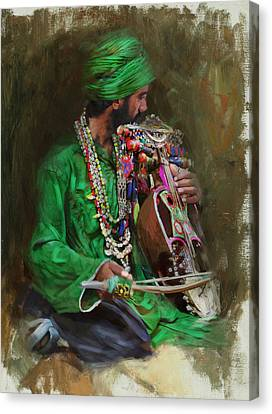 023 Sindh Canvas Print by Mahnoor Shah