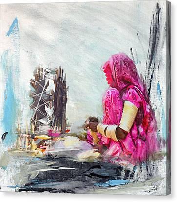 024 Sindh Canvas Print by Maryam Mughal