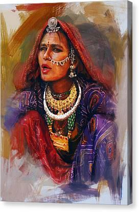 027 Sindh Canvas Print by Mahnoor Shah