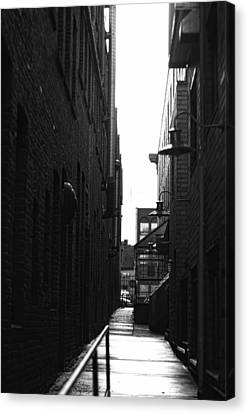 Alleyway Canvas Print by Marilyn Wilson
