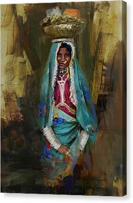 030 Sindh Canvas Print by Maryam Mughal