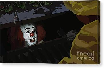 036. They All Float Down Here Canvas Print by Tam Hazlewood