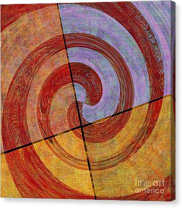 0581 Abstract Thought Canvas Print