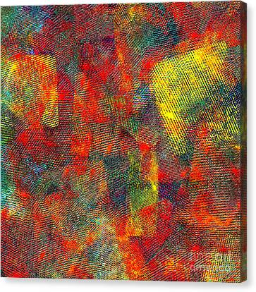 0786 Abstract Thought Canvas Print