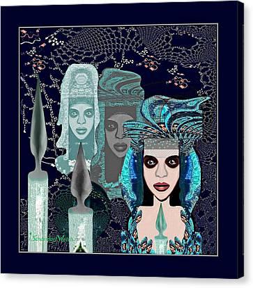 082 - Mystic Child 2017 Canvas Print
