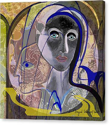 090 - Icon Canvas Print