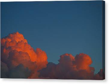 Fireclouds Canvas Print