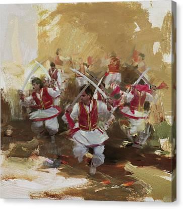 006 Pakhtun B Canvas Print by Maryam Mughal