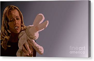 050. Twitchy Little Noses Canvas Print by Tam Hazlewood