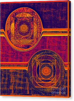 0523 Abstract Thought Canvas Print