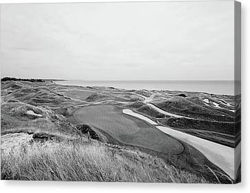 11th Green Par 3 Irish Course Canvas Print