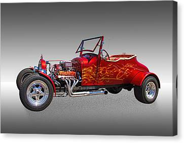 1927 Ford Hot Rod Canvas Print by Nick Gray