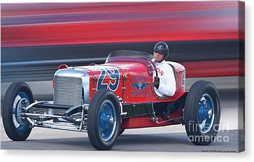 Canvas Print featuring the digital art 1933 Martz Special by Ed Dooley