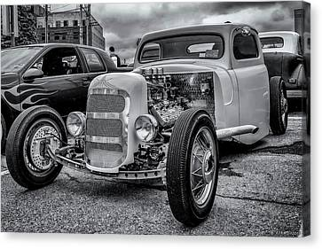 1948 Mercury Pickup Hot Rod Canvas Print by Ken Morris