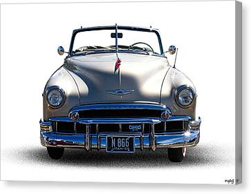 1949 Chevrolet Convertible Canvas Print by Nick Gray