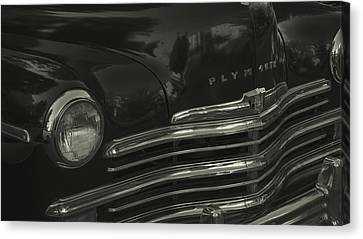 1949 Plymouth Deluxe  Canvas Print by Cathy Anderson