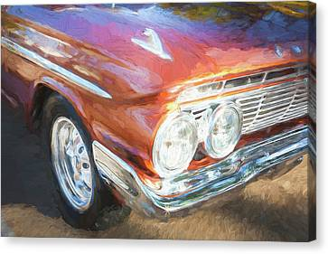 1961 Chevrolet Impala Ss  Canvas Print by Rich Franco
