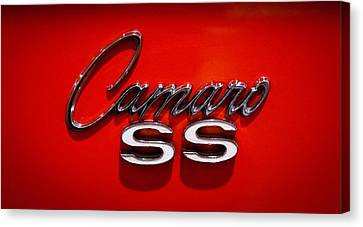 1969 Chevrolet Camaro 2-door Hardtop Canvas Print