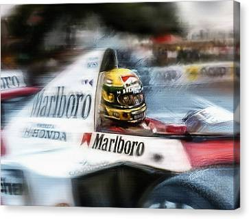 1989 Monaco Grand Prix Canvas Print