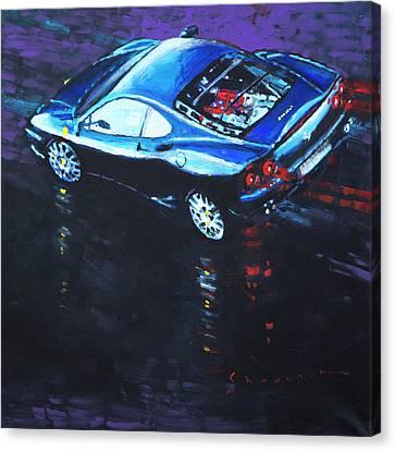 360-Challenge-Stradale CANVAS Ferrari Art print POSTER