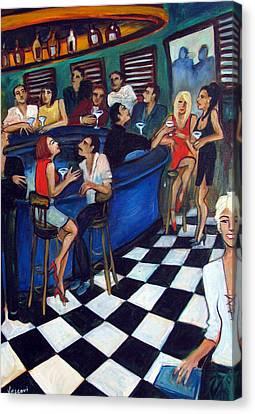 32 East Canvas Print by Valerie Vescovi