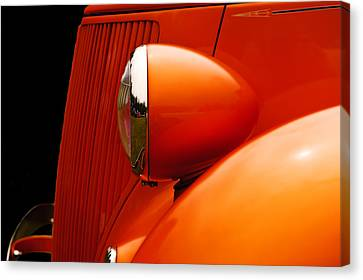 34 Front End Canvas Print by Jim  Hatch