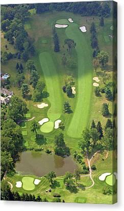 3rd Hole Sunnybrook Golf Club 398 Stenton Avenue Plymouth Meeting Pa 19462 1243 Canvas Print by Duncan Pearson