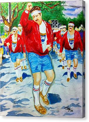 610 Stompers Canvas Print by Terry J Marks Sr