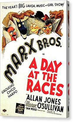 A Day At The Races 1937 Canvas Print by M G M