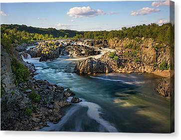 A Day In The Life Of A River Canvas Print