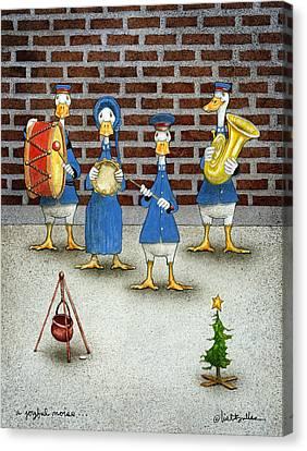 Salvation Army Canvas Print - A Joyful Noise... by Will Bullas