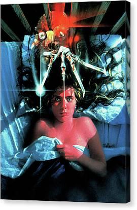 A Nightmare On Elm Street 1984 Canvas Print by Caio Caldas