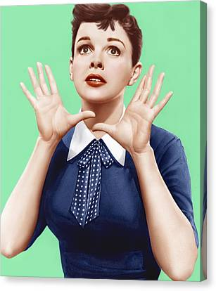 1950s Portraits Canvas Print - A Star Is Born, Judy Garland, 1954 by Everett