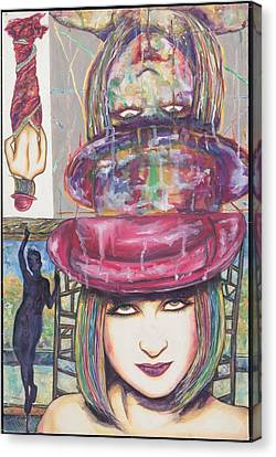 A True Color Canvas Print by Joseph Lawrence Vasile