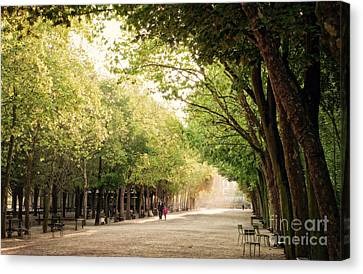A Walk In The Park  Canvas Print by Ivy Ho