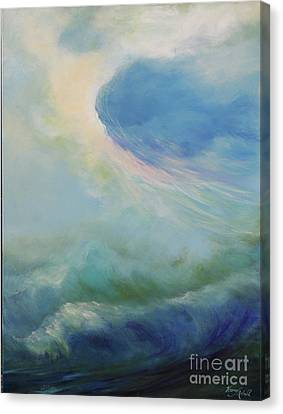 Undertow Canvas Print - A Way Out by Michele Hollister - for Nancy Asbell