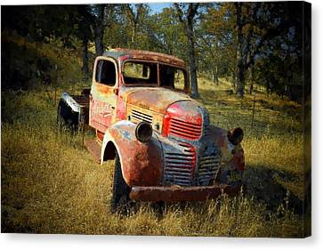 Abandoned Dodge Truck Canvas Print