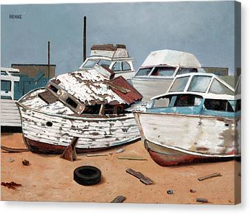 Abandoned Dreams Canvas Print by Robert Henne