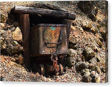 Abandoned Gold Mine Canvas Print by Frank Wilson