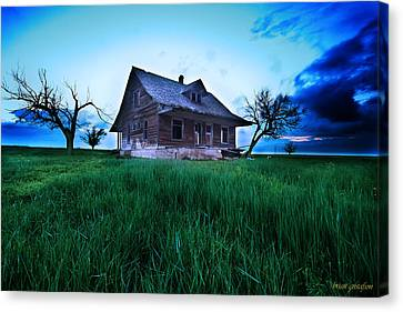 Last Chance Abandonment Canvas Print by Brian Gustafson
