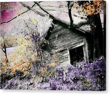 Abandoned Canvas Print by Mindy Sommers