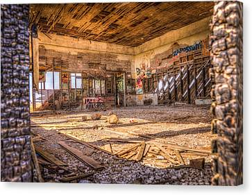 Abandoned School House Canvas Print
