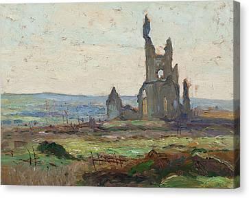 Ablain, St. Nazaire Canvas Print by Maurice Cullen