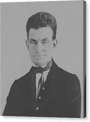 Abolitionist Canvas Print - Abolitionist John Brown by War Is Hell Store