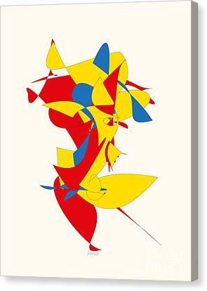 Basel Art M1 Canvas Print