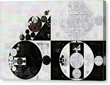 Vista Canvas Print - Abstract Painting - Dove Grey by Vitaliy Gladkiy