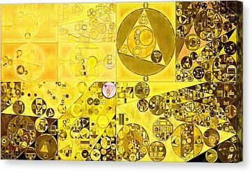 Abstract Painting - Hacienda Canvas Print
