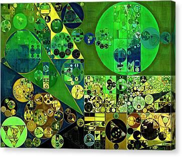 Abstract Painting - June Bud Canvas Print by Vitaliy Gladkiy