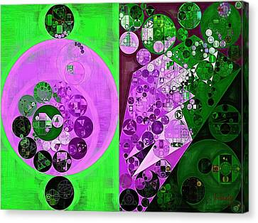 Abstract Painting - Lavender Magenta Canvas Print by Vitaliy Gladkiy